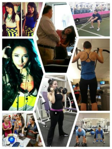 fitness and fashion collage 2
