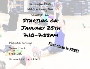 Work It Out Wednesdays **Chicago Park District**